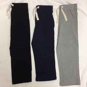 EUC Black Navy Heather Gray Old Navy Pants 4T